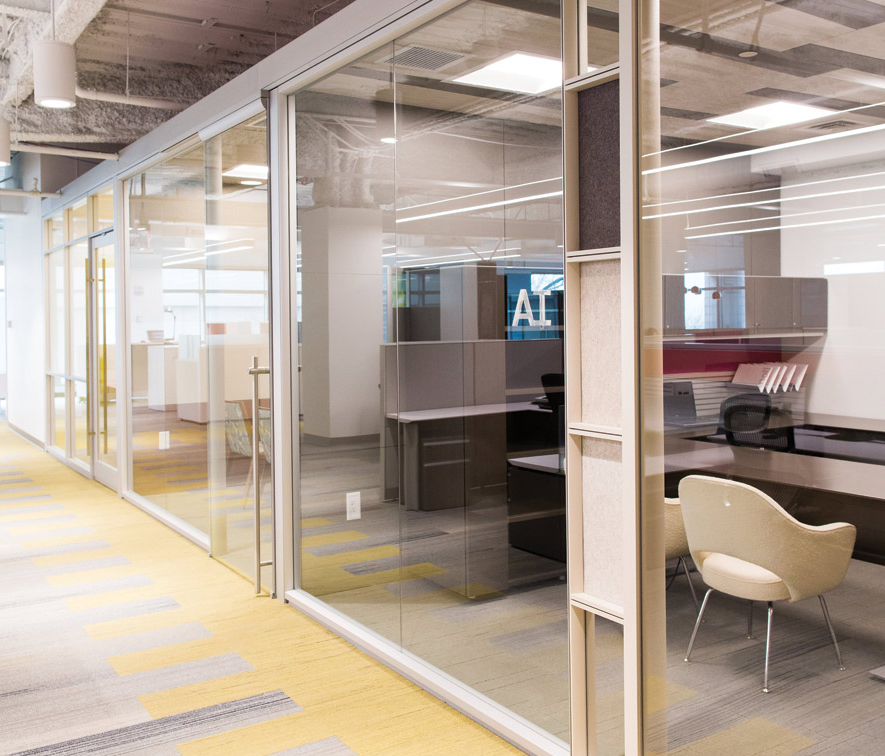 Modular Glass Office Walls - Photo Credit: Dillmeier Glass